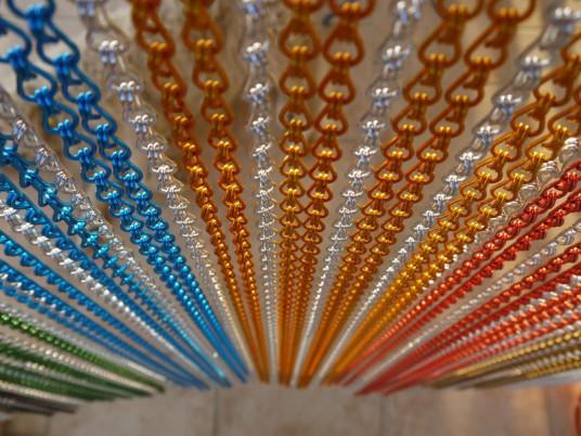 RIDEAUX EN BUIS. rideaux portière en perles de buis - Nouveauté ...