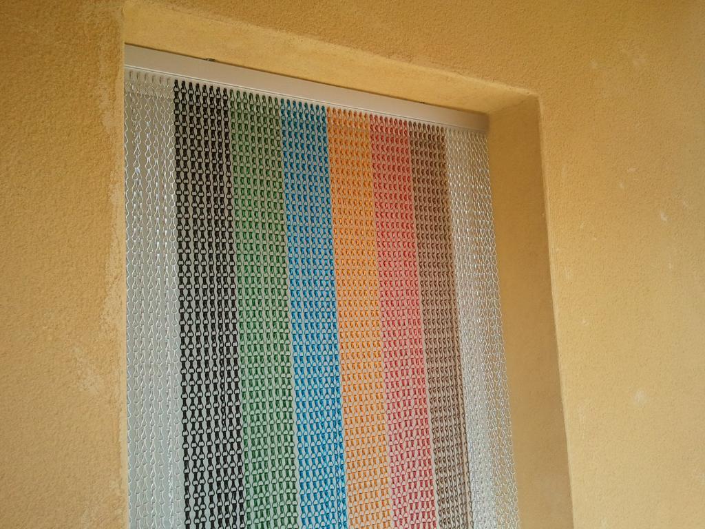 RIDEAUX EN BUIS. rideaux portière en perles de buis - Galerie photos